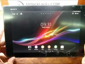 How To Unlock Sony Xperia Z2 Tablet by unlock code.