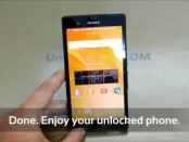 How To Unlock Sony Xperia Z3, Z3 Compact, Z3 Dual and Z3 Tablet Compact by Unlock Code.