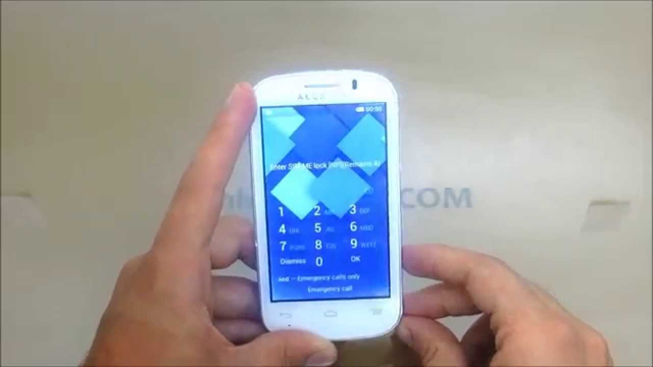 How To Unlock Alcatel One Touch Phone Lock
