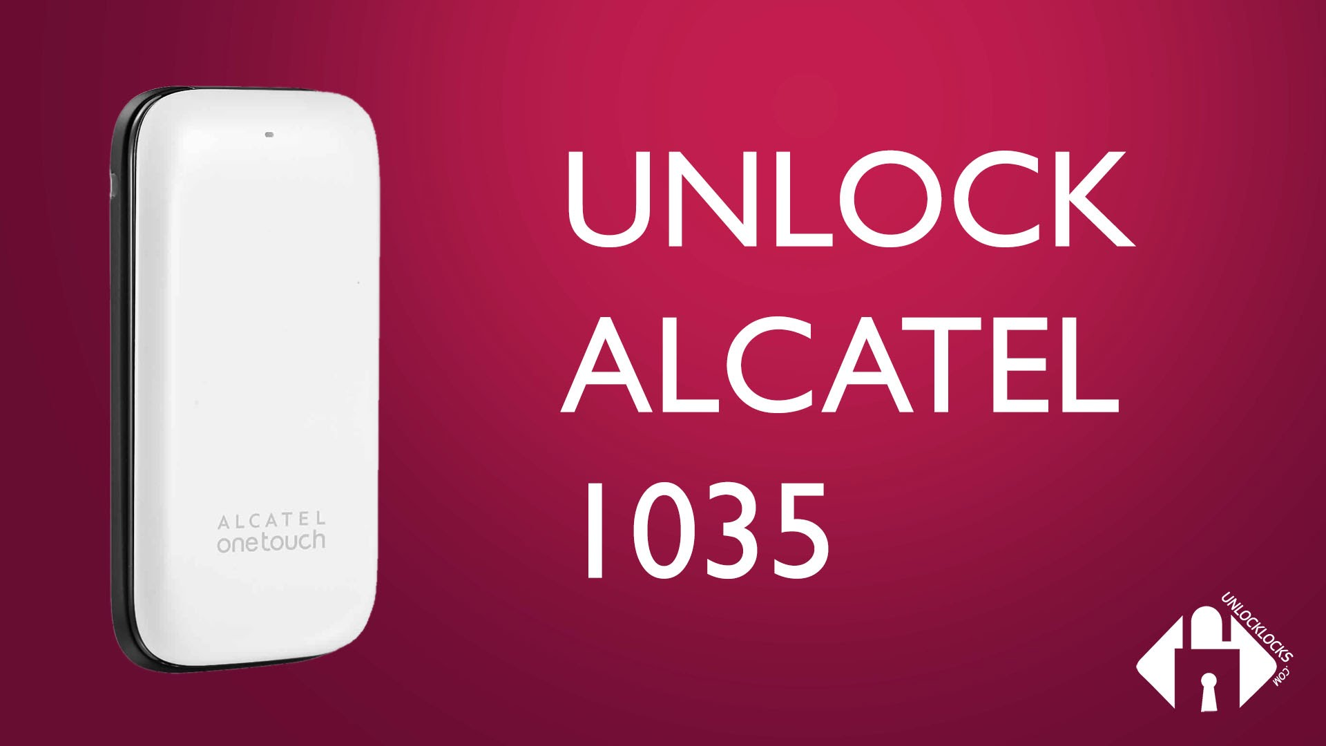 How To Unlock Alcatel ONETOUCH 1035 (OT-1035X, OT-1035A and