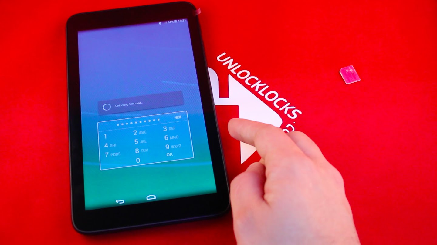How To Unlock ALCATEL OneTouch POP 7 Tablet by Unlock Code