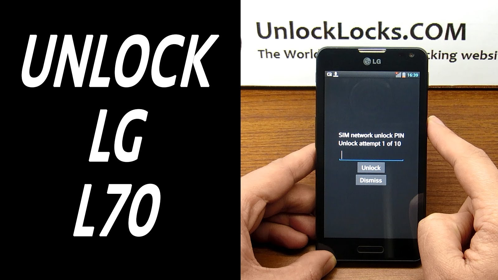 How To Unlock LG L70 (D320, D321, D320N, D320F, D325 and