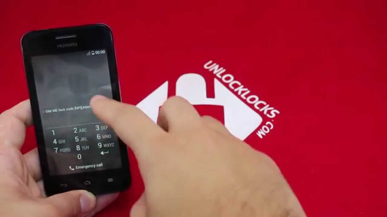 Unlock Any Huawei Ascend Y330 Using An Unlock Code